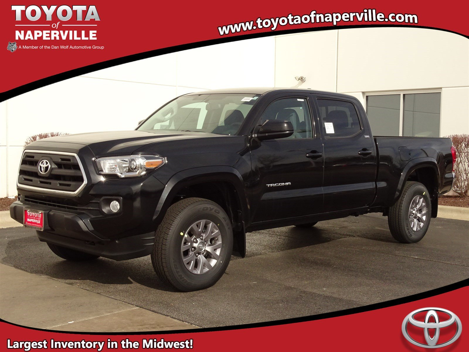 new 2017 toyota tacoma sr5 4d double cab in naperville t24432 toyota of naperville. Black Bedroom Furniture Sets. Home Design Ideas