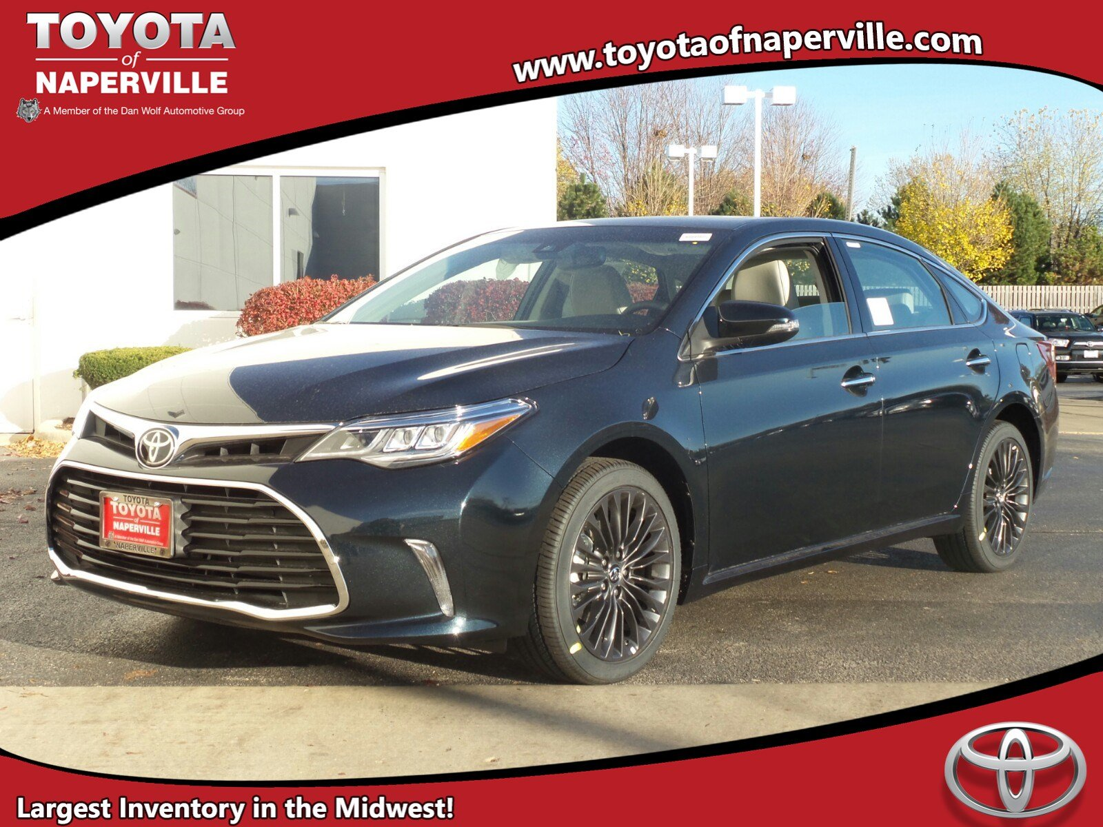 new 2017 toyota avalon touring 4dr car in naperville c29389 toyota of naperville. Black Bedroom Furniture Sets. Home Design Ideas